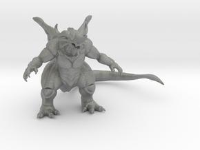 Bagan kaiju monster 57mm miniature game fantasyRPG in Gray PA12