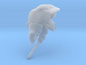 Strider Head S in Smooth Fine Detail Plastic