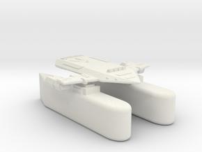 3125 Scale Orion Heavy Fleet Transport, Klingon in White Natural Versatile Plastic