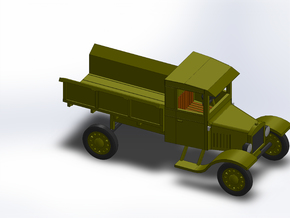 1923 MODEL TT ARMY TRUCK in Smooth Fine Detail Plastic