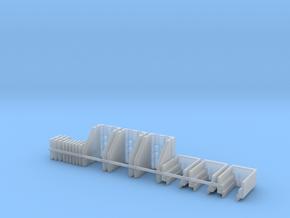 Broadside Conversion Kit For 3 Models in Smooth Fine Detail Plastic