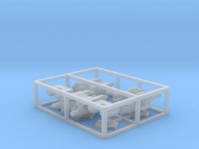 7000 Scale Lyran Fleet Support Collection CVN in Smooth Fine Detail Plastic