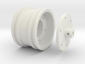 vibrator compactor wheel for bruder in White Natural Versatile Plastic