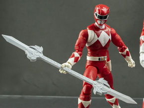 Curse of the Black Dragon : Ranger Sentry Red PS in White Natural Versatile Plastic