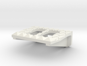 NoHandsy's Foot Pedal in White Natural Versatile Plastic