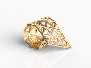 MORPH RING in Natural Brass: 8 / 56.75