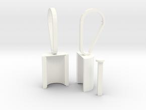 Door open tool in White Processed Versatile Plastic