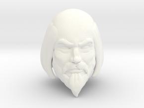 King Miro Head in White Processed Versatile Plastic