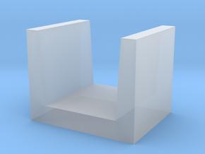 U-shaped Block concrete in Smooth Fine Detail Plastic