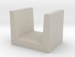U-shaped Block concrete in Natural Sandstone