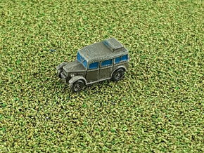 British Humber Heavy Utility Staff Car 1/285 6mm in Smooth Fine Detail Plastic
