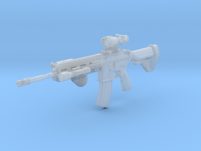 1/10th 416D Tactical14 in Smoothest Fine Detail Plastic