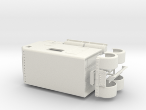 1/50th 200 Inch big semi show sleeper in White Natural Versatile Plastic