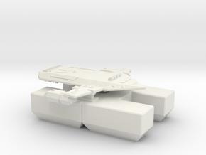 3125 Scale Orion Heavy Fleet Transport, Lyran in White Natural Versatile Plastic
