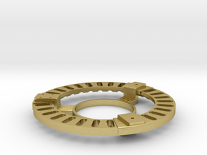 Vent Ring Assembly in Natural Brass
