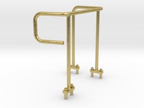Geländer für Premacon Liebherr R946 in Natural Brass