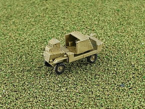 British AEC Deacon 6pdr. Gun Carrier 1/285 6mm  in Smooth Fine Detail Plastic
