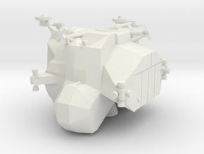 053D Lunar Module Ascent Stage 1/144 in White Natural Versatile Plastic