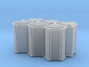 6-Pack of Star Wars Loot Crate Wargaming Terrain in Smooth Fine Detail Plastic