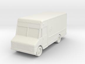 UPS Delivery Van 1/144 in White Natural Versatile Plastic