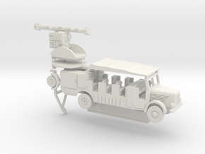 1/87 Bussing Kfz 415 + range finder in White Natural Versatile Plastic