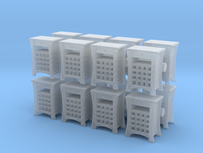 Wine Cabinet (x16) 1/144 in Smooth Fine Detail Plastic