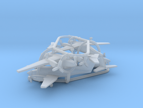Beechcraft Super King Air 200 in Smooth Fine Detail Plastic: 1:500