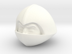 Palace Guard Head in White Processed Versatile Plastic