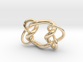 Knot C in 14K Yellow Gold