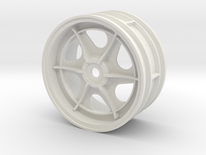 tamiya 2.2 astute right front wheel  in White Natural Versatile Plastic