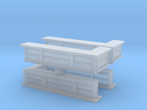 Bar Counter (right corner) (x4) 1/200 in Smooth Fine Detail Plastic