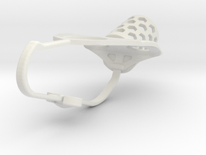 Controller mount for Nimbus & Bike Mount in White Natural Versatile Plastic