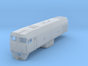 AN N Scale NJ Class Locomotive in Smooth Fine Detail Plastic