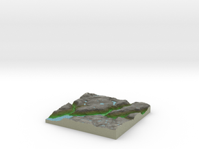 Terrafab generated model Wed Aug 06 2014 16:45:12  in Full Color Sandstone