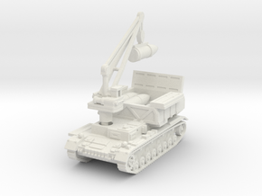 Munitionsschlepper Pz IV 60cm 1/87 in White Natural Versatile Plastic