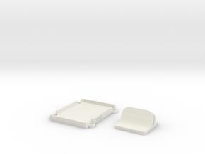 F550 Led Holder REMIX in White Natural Versatile Plastic