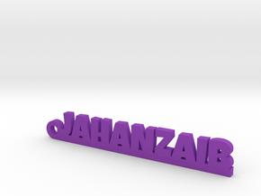JAHANZAIB_keychain_Lucky in Purple Processed Versatile Plastic