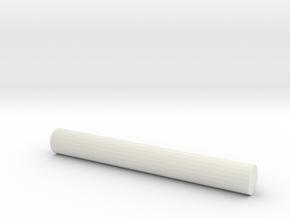 桿子 Pole in White Natural Versatile Plastic: Medium