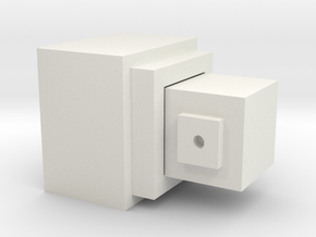 噴頭(整組) Nozzle (whole group) in White Natural Versatile Plastic: Medium