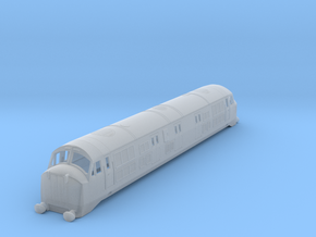b148fs-br-class-41-warship-loco in Smooth Fine Detail Plastic