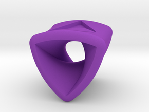 Stretch Rotor 8  By Jielt Gregoire in Purple Processed Versatile Plastic