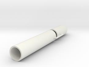 LT 850 1-32 Plastic Parts in White Natural Versatile Plastic