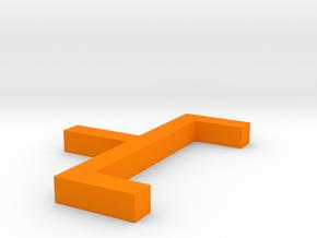 Amazing Jarv (4) in Orange Processed Versatile Plastic