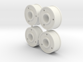 4xJanteAV20-Deport+1 in White Natural Versatile Plastic