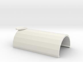 防接觸手把-上蓋 in White Natural Versatile Plastic
