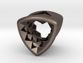 Stretch Diamond 10 By Jielt Gregoire in Polished Bronzed Silver Steel