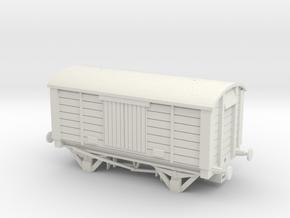 LBSCR Van NEM in White Natural Versatile Plastic