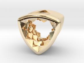 Stretch Diamond 12 By Jielt Gregoire in 14K Yellow Gold