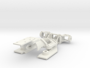 Hesketh Policar Conversion for Fly Body in White Natural Versatile Plastic