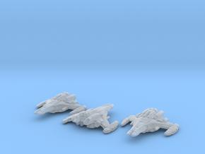 Dominion Battleship 1/60000 x3 in Smooth Fine Detail Plastic